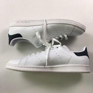 Adidas Mens White Blue Stan Smith 3 Art